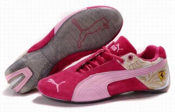 basket puma ferrari pour femme