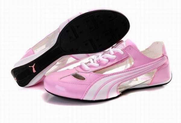 chaussure puma en toile homme
