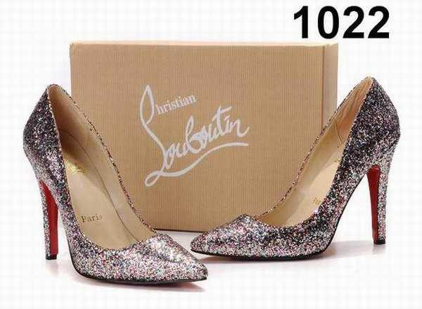 chaussures louboutin pas cher femme